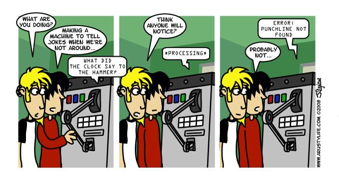 Automatic Joke Machine