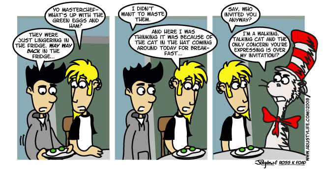 Unnatural Green Eggs and Ham