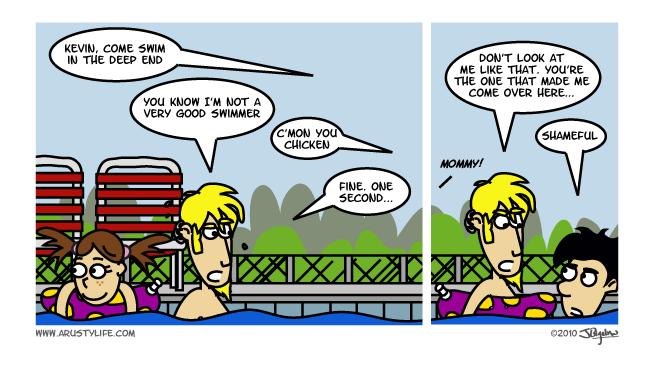 Not a Good Swimmer